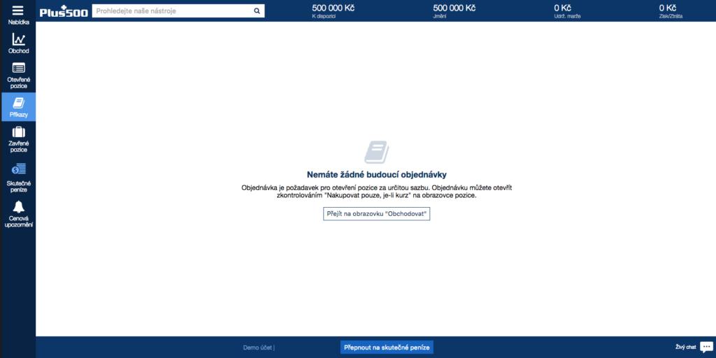 Broker účtuje tzv. mrtvým účtům poplatek za neaktivitu