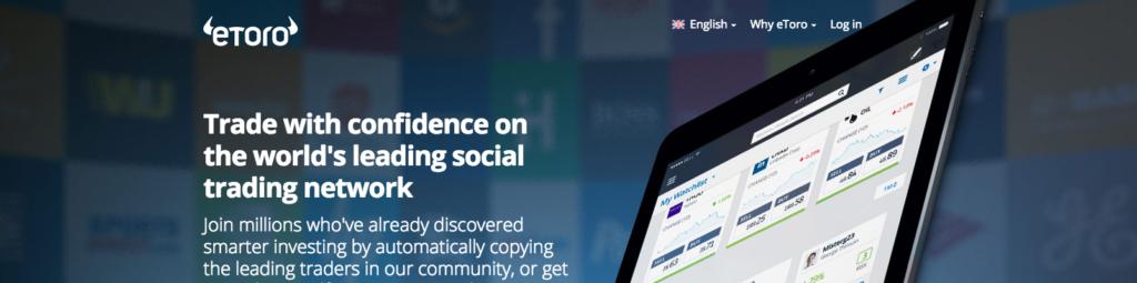 eToro - sociální obchodování